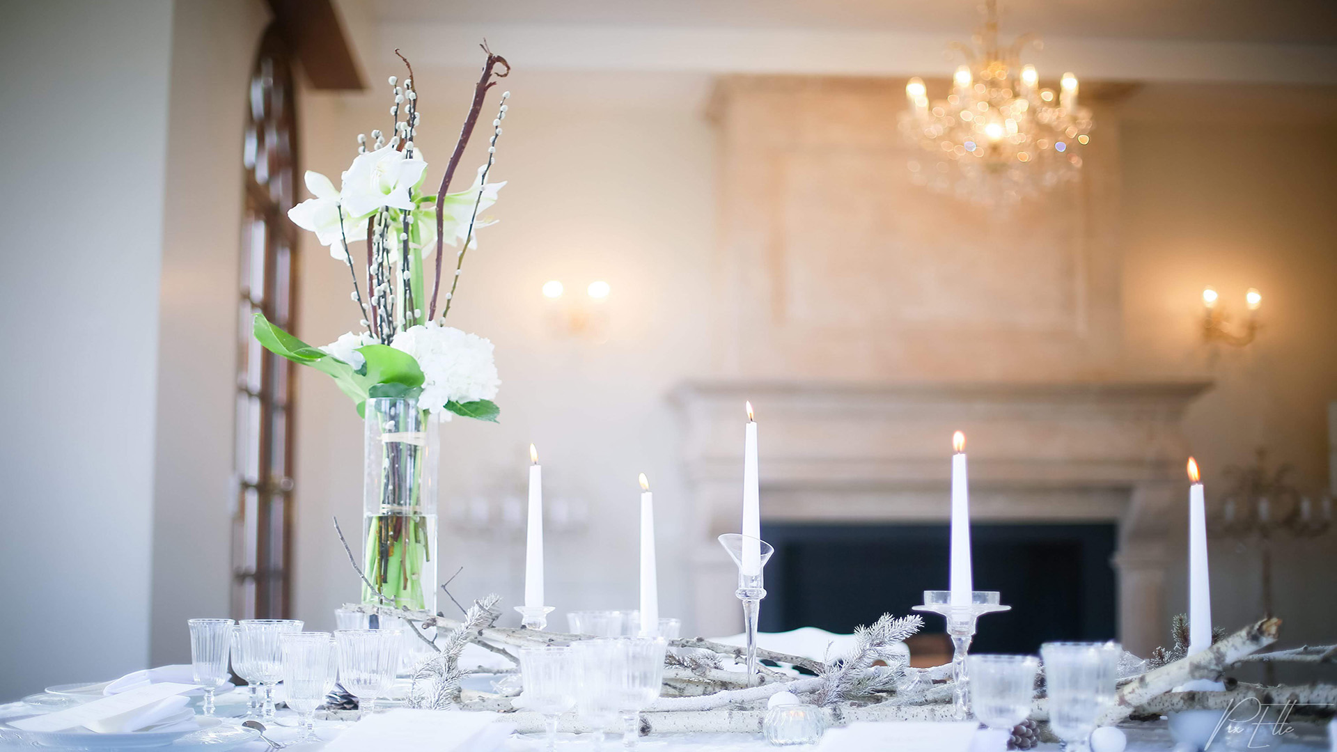 Shooting inspiration mariage hiver décoration de table - Perfect Moment by A Wedding planner Reims