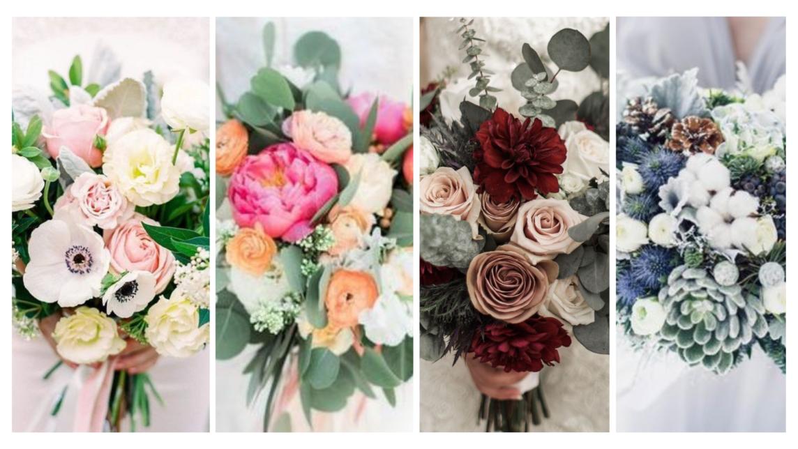 Les quatres saisons pour un mariage - Wedding planner Reims - Perfect Moment by A