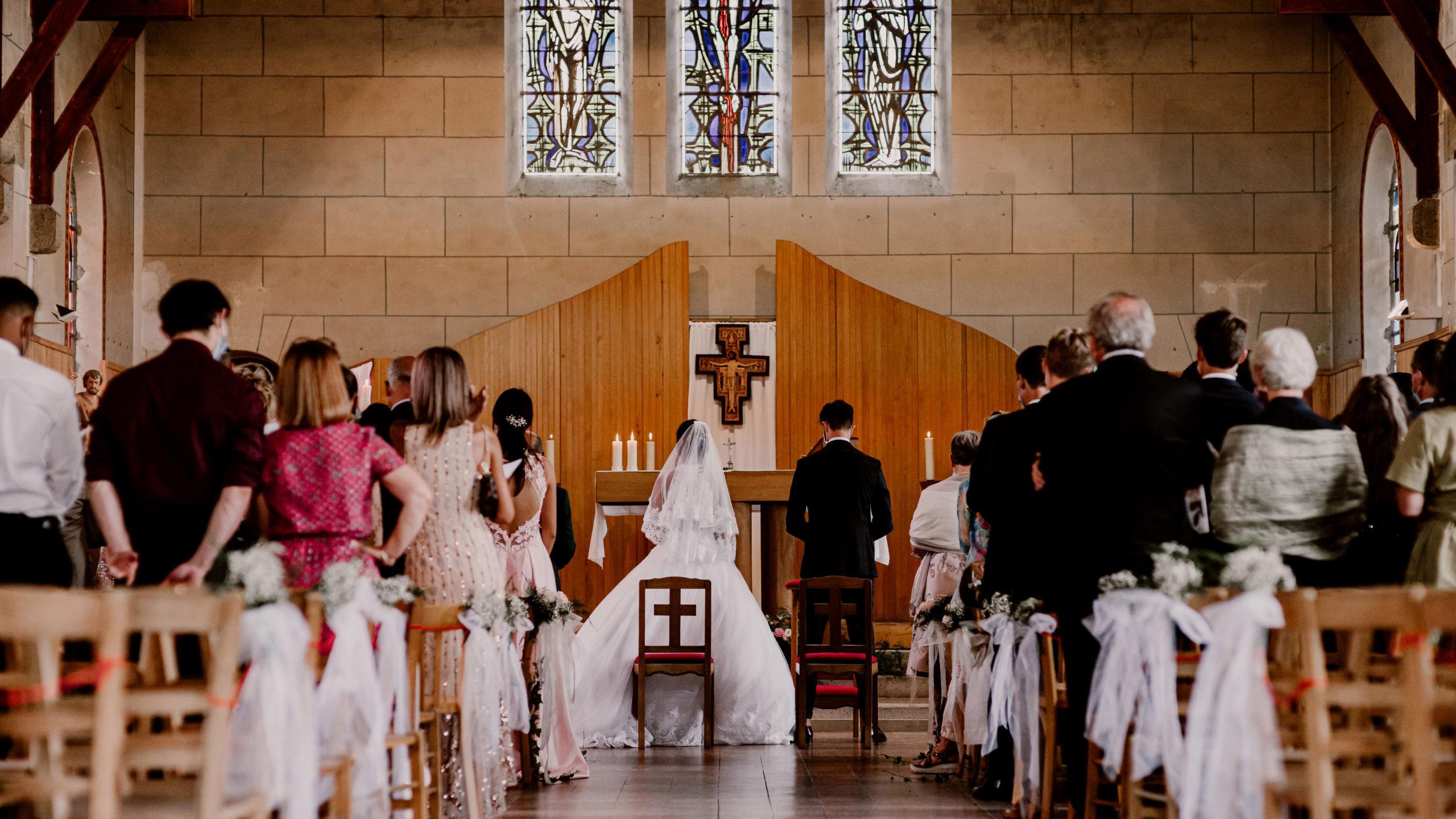 La cérémonie de mariage à l'église - Perfect Moment by A - Wedding-Planner Reims