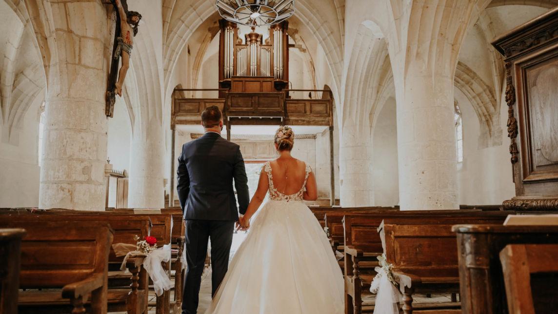 Cérémonie de mariage, mariage à l'église- église - Perfect Moment by A - Wedding-Planner Reims