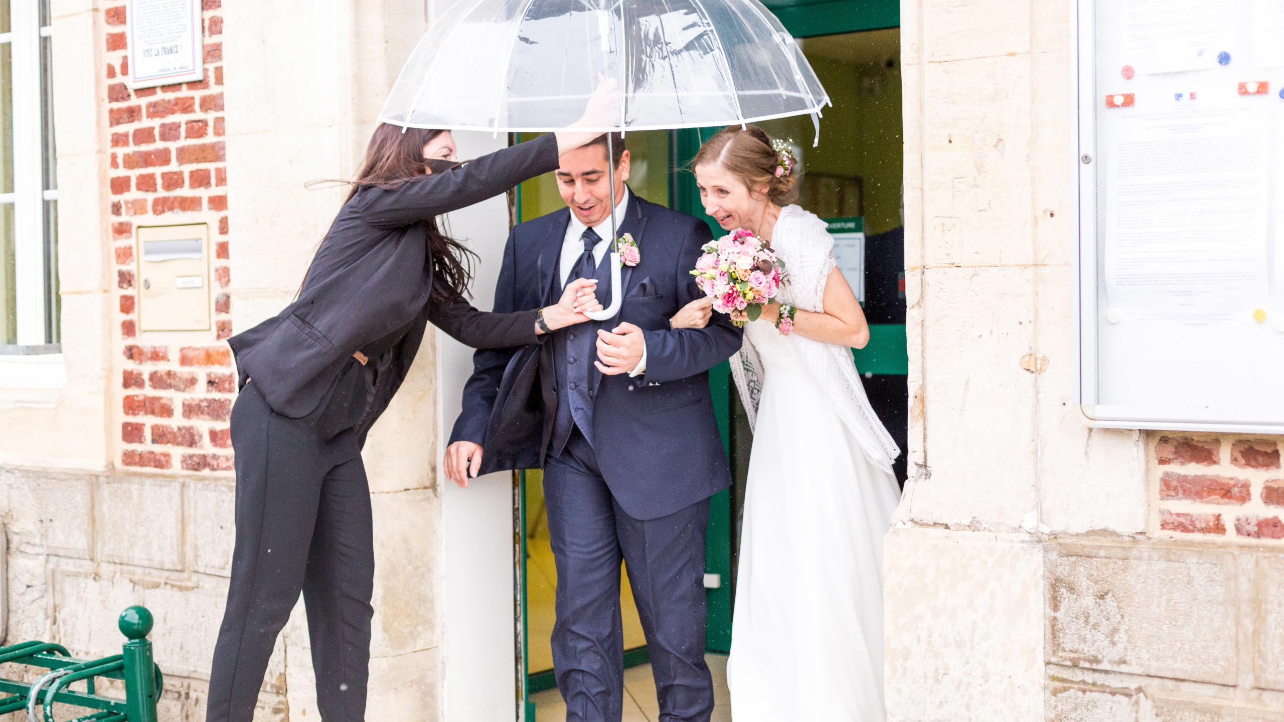Mariage pluvieux - Perfect Moment by A - Reims